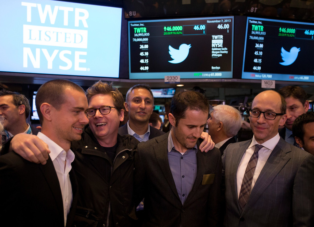 """. <p>6. (tie) TWITTER <p>Just what the world needs: a few more billionaire dweebs. (unranked) <p><b><a href=\'http://www.twincities.com/business/ci_24473710/twitter-set-public-stock-debut-nyse\' target=\""""_blank\""""> HUH?</a></b> <p>   (Scott Eells/Bloomberg)"""