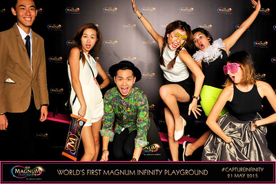 Magnum's Infinity Launch Party