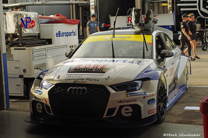 TCR-eEuroparts.com ROWE Racing Audi RS3 LMS TCR
