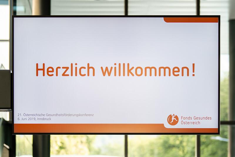 21. Österreichische Gesundheitsförderungskonferenz