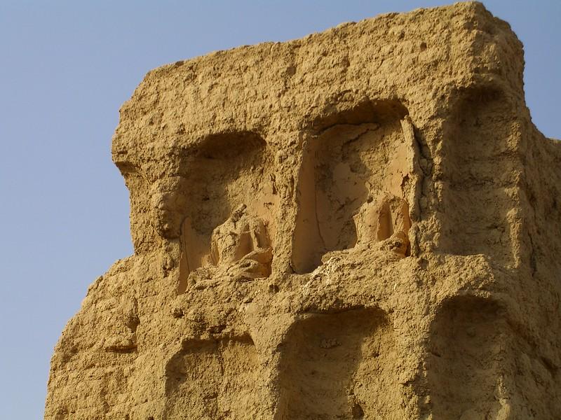 Buddha ruins at Jiaohe - Kaitlin Lutz