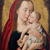 The Virgin and Child , Master of Saint Giles, 16th century.  The Louvre Museum, Paris, France