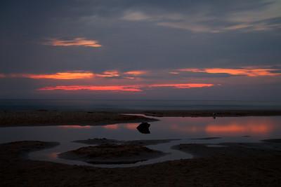 2011-09-02 Sunset at Lake Michigan