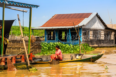 Mechrey Floating Village, Tonle Sap