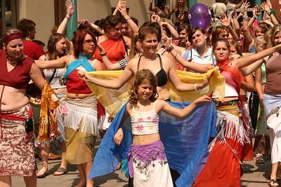 Fata Morgana 2006 - De voorbereiding op zaterdagmiddag