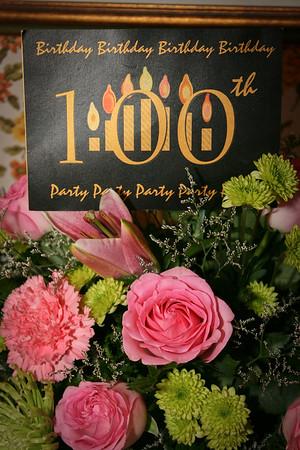 Essie Sudduth's 100th Bday Party