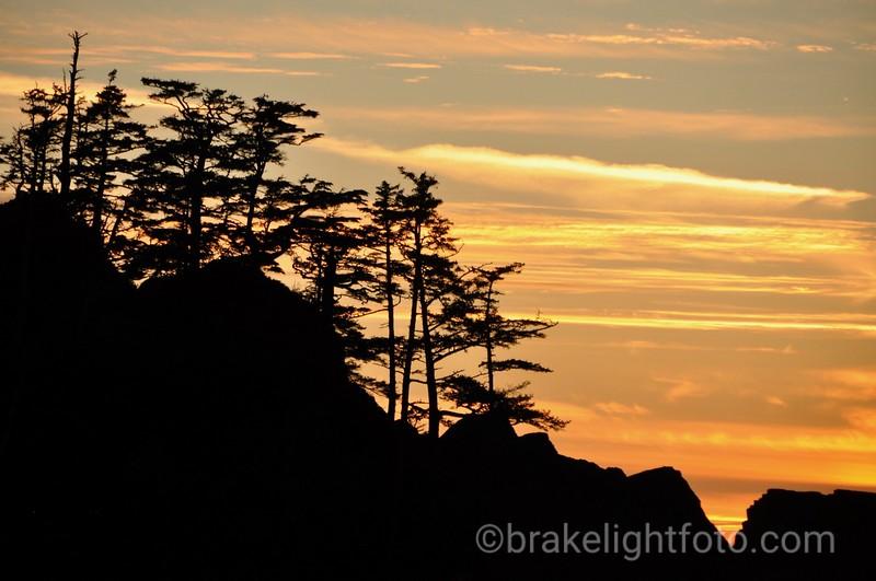 Skelu Bay Sunset