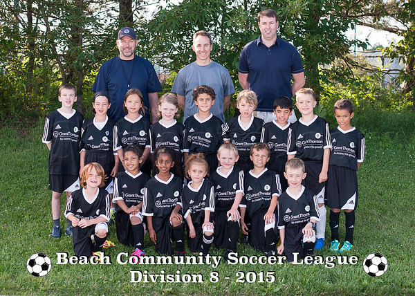 2015 BCSL Team Photos
