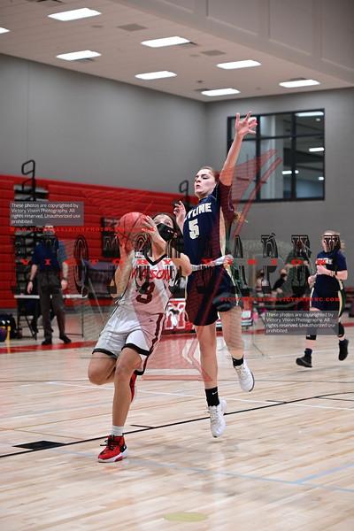 Skyline @ George Mason Girls JV Basketball 1-20-21