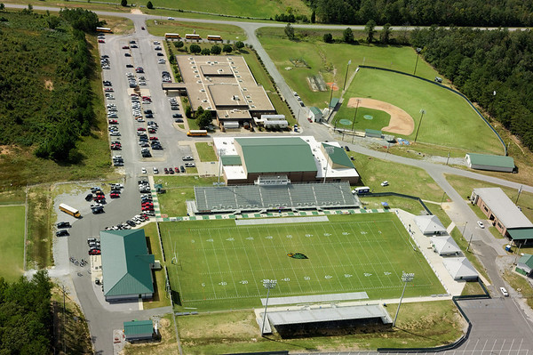 Hokes Bluff High School Aerial Photos
