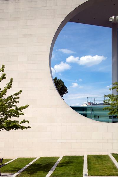 German Chancellery building, Berlin, Germany