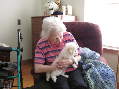 Bertie and Grandma Perrino