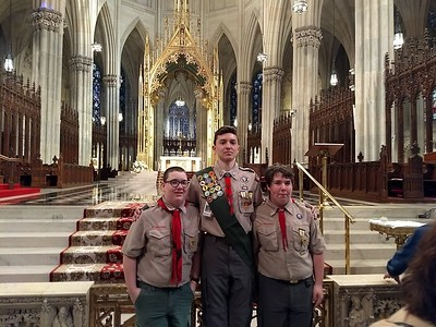 Scout's Mass at St. Patrick's Cathedral