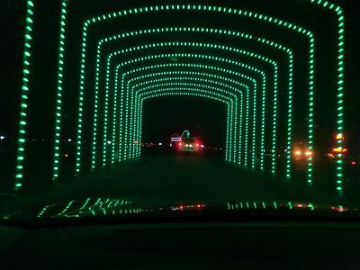 Christmas Nights of Lights - Coney Island - Cincinnati - 28 Dec. '17