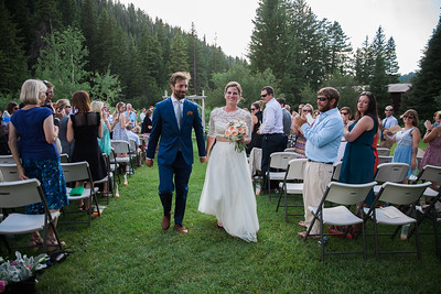 Chris + Sara | Married at Moose Creek Ranch