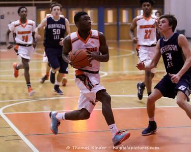 Boys JV Basketball vs Washington Lee 2/3/17