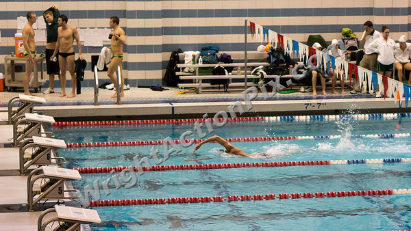 2013 01 26 Oakland University Swimming vs MSU