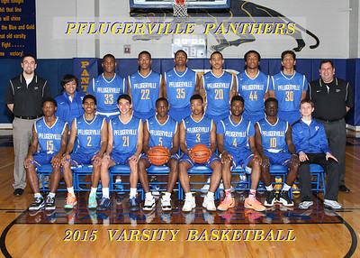 2015 PHS Boys Basketball