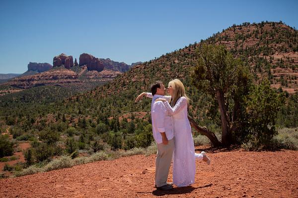 Ree & Paul's Sedona Wedding