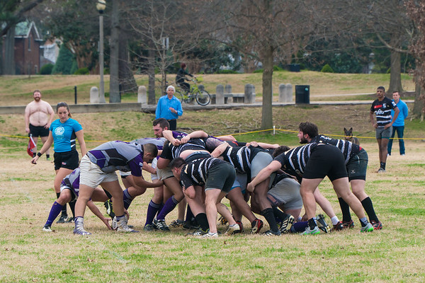 Rugby Game at Overton Park