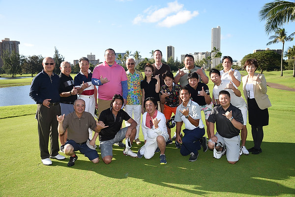 Honolulu Country Club Sumo Event  2-13-17