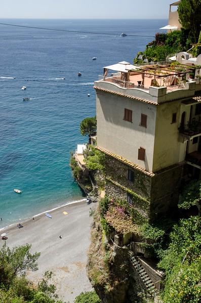House over beach