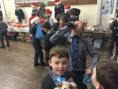 Decembers St. Vincent's Cake sale