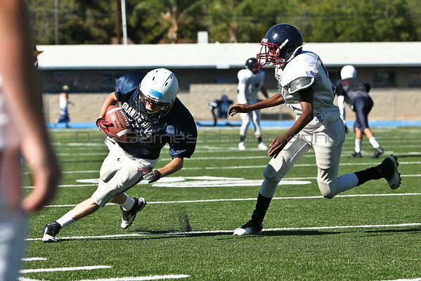 Granite Hills scrimmage vs Steele Canyon 08/22/14