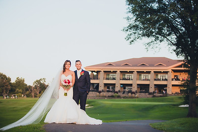 Andres and Samah - The Galloping Hill Golf Course