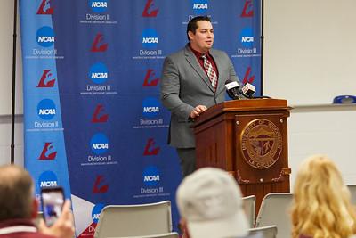 2020 UWL Athletics Football Coach Matt Janus