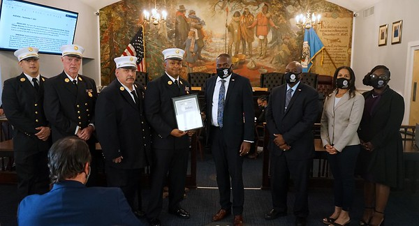 Nassau County Police and Fire Department Recognition:  9-7-2021