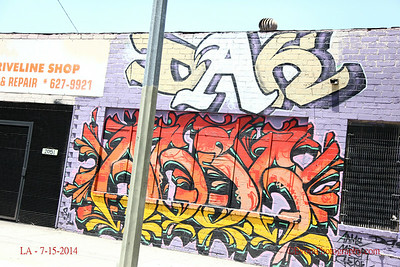 Los Angeles 7-15-2014.  Car ride photo stroll.  The old neighborhood.