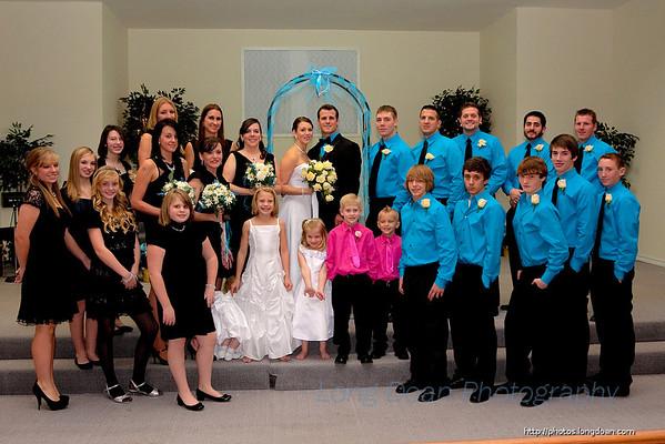 Morgan and Bo's Wedding, December 2010