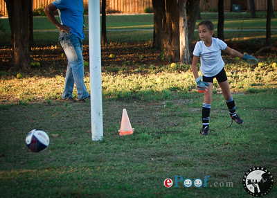 Angelina Cortes Soccer Practice 102915