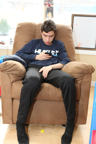 Arm chair smartphone controls