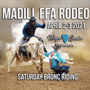 Saturday Night Madill FFA Rodeo Broncs