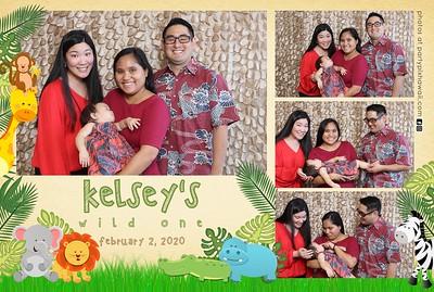 Kelsey's Wild One (Mini LED Photo Booth)