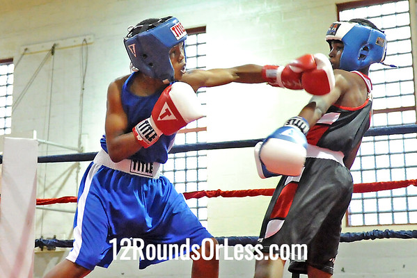 Bout #6 Javuani Jones, BSBA vs Delante Johnson, UBA 100 lbs