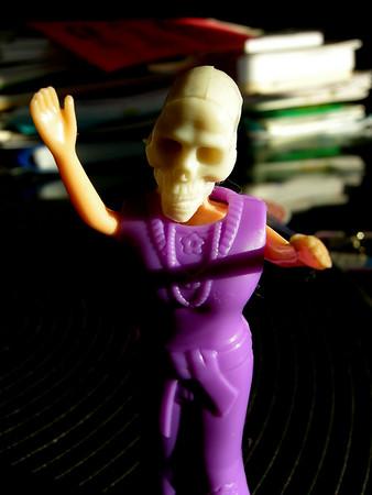 Skulls! and Polly Pocket Doll