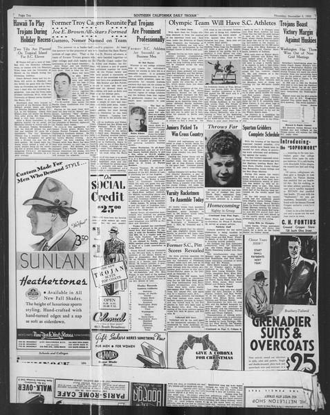 Daily Trojan, Vol. 27, No. 51, December 05, 1935