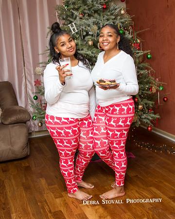 Daja & Jada Christmas Shoot 2018