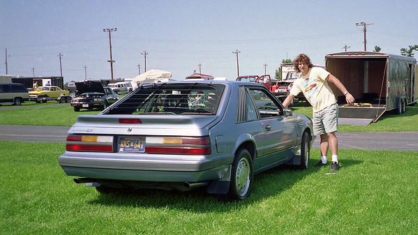 August 1 - 2, 1992:  Supercar Showdown, Quaker City Dragway .  .  .