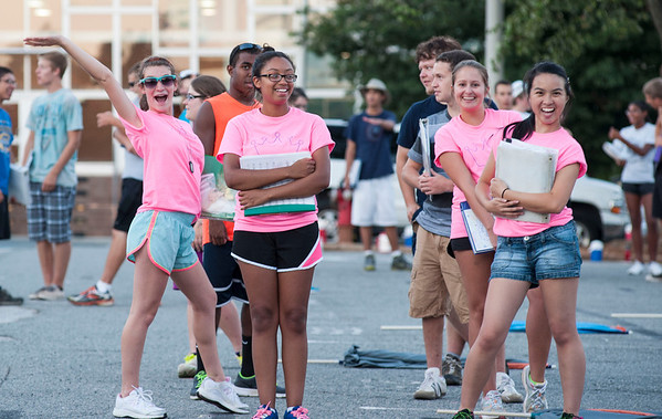 2013-08-24: Post-Band Camp Practice