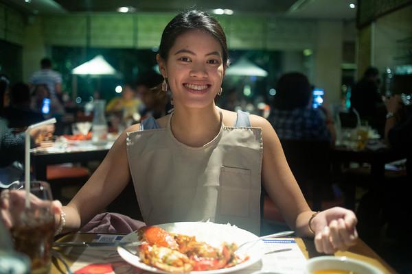 20181221 Christmas Dinner with Josine