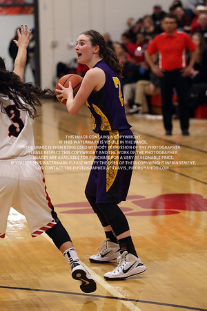 2016 Bayfield Varisty Girls Basketball vs Ignacio January 26
