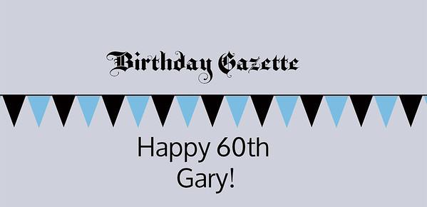 Gary's 60th