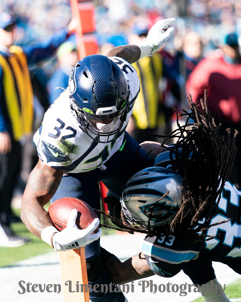 Chris Carson, Tre Boston