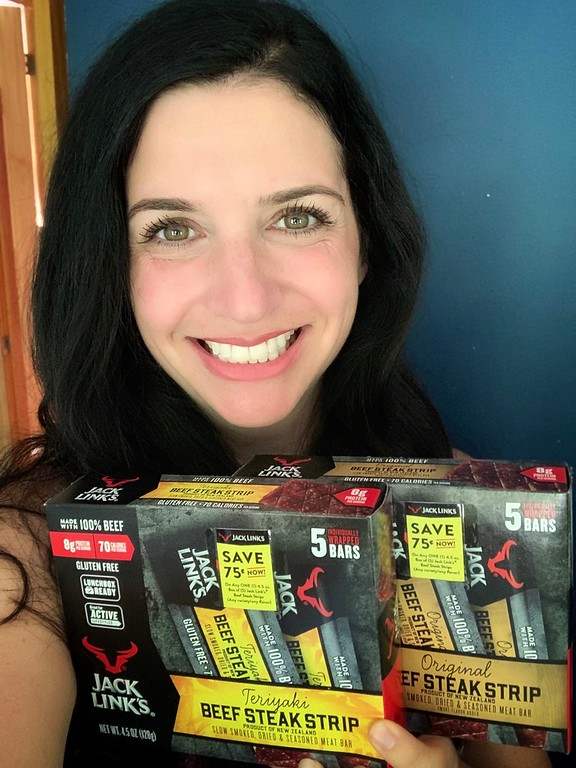 #ad Jack Link's Beef Steak Bars are the perfect on-the-go snack you'll need this fall. Get yours at Walmart with coupons! #JackLinks100%BeefBar @JackLinks on-the-go snack