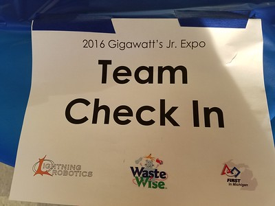 2016 Gigawatt's FLL Jr. Spring Expo
