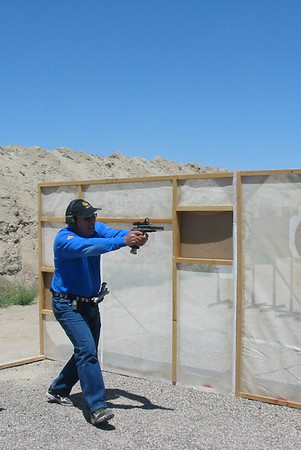 Fallon USPSA pistol match July 2011